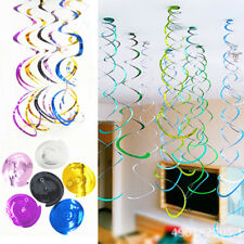 Hanging Swirls Ceiling Decorations New Years Eve Baby Shower Wedding Party