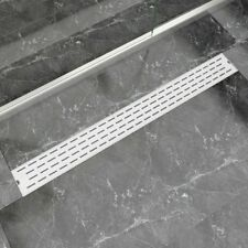 Linear Floor Shower Drain Wetroom Bathroom Channel Line Stainless Steel 6 Sizes