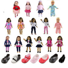 MagiDeal Clothes Shoes for 18 Inch American Girl Doll Sneakers Clothes Dress