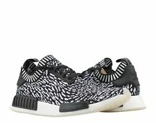Adidas NMD_R1 PK Primeknit Sashiko Black/White Men's Running Shoes BY3013