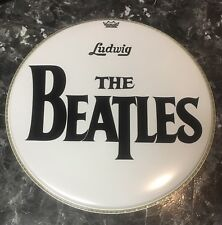 The Beatles 20 Inch Reproduction Bass Drum Head Blemished #1