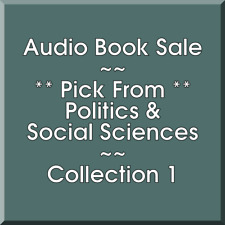 Audio Book Sale: Politics & Social Sciences (1) - Pick what you want to save