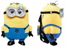 OFFICIAL Despicable Me 2 Minion Plush Doll Toy Travel Pillow/Backpack/Tote Bag