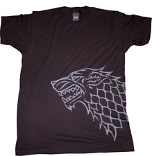 Game Of Thrones HBO Licensed T-Shirts Stark Sigil Distressed Various Sizes New