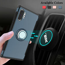For Samsung Galaxy S8/S8 Plus Shockproof Stand Phone Case+Car Vent Mount Holder
