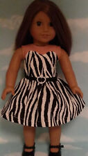 "Dress handmade to fit 18"" American Girl Doll 18 inch Doll Clothes 10a"