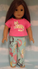 """Pajamas handmade for 18"""" American Girl Doll to fit 18 inch Doll Clothes 309a"""