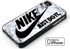 Marble Style Just Do It Nike For iPhone 5 5s 6 6s 6+ 6s+ 7 7+ TPU Rubber Case