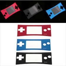Dustproof Front Shell Face-plate Case Cover for Nintendo Game-boy Micro GBM