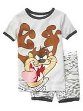 NWT BABY GAP BOYS PAJAMAS  short Looney Tunes Taz Tasmanian Devil  u pick size