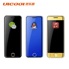 ULCOOL V66 Ultra Thin Mobile Mini Cell phone Dual Sim MP3 Bluetooth MP3 1.67inch
