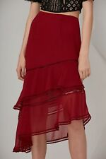 NEW Women's Skirts Lovers Holiday Skirt Plum By Keepsake