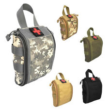 1000D Fabric Molle Tactical First Aid Bag Utility Accessory Waist Pack Pouch