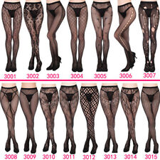 Pantyhose Black 1 pc Sexy Tights Stocking  Patterned Lace Lingerie Women