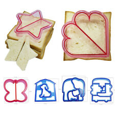 DIY Kids Sandwich Toast Cookies Cake Bread Biscuit Food Cutter Mould Mold C0216