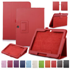 Leather Stand Matte Folio Case Cover For Samsung Galaxy Tab3 10.1 P5200
