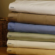 Full-XL Size Bedding Items 1000TC Egyptian Cotton All Solid/Striped Pattern