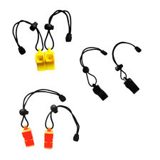 2x Safety Whistle & Lanyard for Emergency Survival Scuba Diving Water Sports