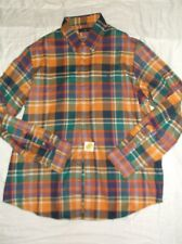 Ralph Lauren Shirt Flannel Plaid  Button-Front NWT $125
