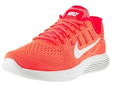 Nike Lunarglide 8 Running Shoes - Womens - Bright Mango/White/Bright Crimson -