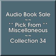 Audio Book Sale: Miscellaneous (34) - Pick what you want to save