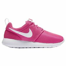 Nike Youth Roshe One Girls Running Shoes Pink Blast/White 599729-611 Size 4.5
