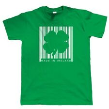 Made In Ireland Barcode, Mens Funny T Shirt - St Patricks Day Gift for Him Dad