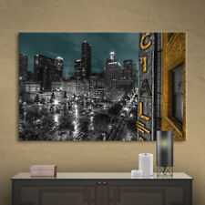L.A.' Gallery wrapped Canvas Art Print