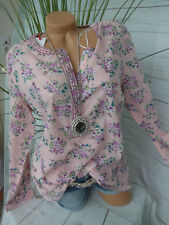 sheego Blouse Long Sleeve Size 44 - 52 blumenmuster Patterned (370) NEW