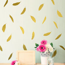 Cute Feather Shaped Wall Sticker Vinyl Wall Art Kid Girls Room Decoration