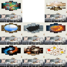 Unframed Modern Abstract Painting Prints On PVC Huge Wall Art Poster Decor