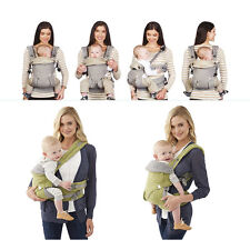 Baby 360 Four Position Breathable Lap Strap Infant Toddler Safety Ergo Carrier