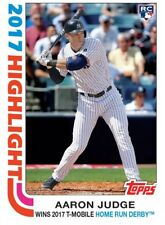 2017 Topps Transcendent Party Aaron Judge RC # 73/87 - 1982 Highlights