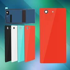 Back Door Battery Rear Housing Cover Tempered Glass Case For Sony Xperia EB 27
