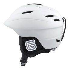 New Grayne MTN Ski and Snowboard Helmet White w/Outdoor Tech Audio Kit Included!