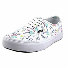 Vans Womens Authentic Sneakers (Neon Lights), Tropical/True White, Size 8.5