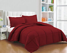 Scala bedding Down Alternative Twin/Queen/King Size Soft Comforter 3-Piece Set