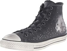 Converse by John Varvatos Distressed Studded Leather Hi Sneaker Silver