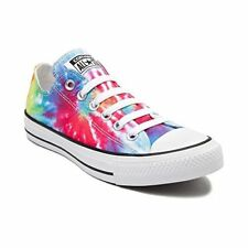 Converse Women's Shoes Chuck Taylor OX Low Sneakers Canvas Made, Tie Dye