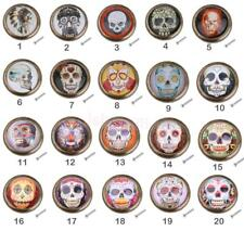 Skull Vintage Knob Pull Handle for Furniture Cabinet Door Wardrobe Drawer Closet