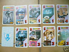 VINTAGE ROBOCOP RARE DECK CROMY ARGENTINA PLAYING CARDS