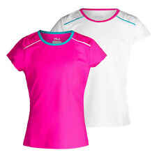 FILA - Girls` Paint the Lines Short Sleeve Tennis Top - (TG171US3-S17)