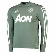 Manchester United Training Top Green Kids