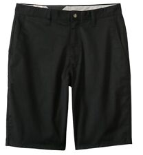 BRAND NEW Mens Volcom Black Frickin Chino Shorts MSRP $45
