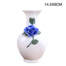 Classic Antique Floral Ceramic Vase Chinese Style Landscape Home Decoration