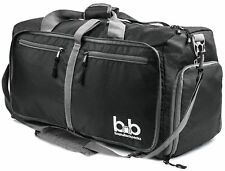 """Gym Duffel Duffle Bag Sport Travel Carry-On Workout Black Green Pink 20"""""""