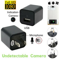 1080P USB Phone Charger AU AC Adapter Home Security Baby Monitor Hidden Camera