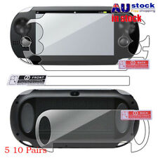 AU HD Transparent Front & Back Screen Protector Film for SONY PS Vita PSV1000