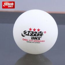 10 x DHS 3 Star D40+ Table Tennis Ball, 2017 CELL-FREE-DUAL, ITTF, Melbourne