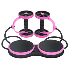 Resistance Band Waist twisting AB Roller Wheel Abdominal Workout Exercise Wheels